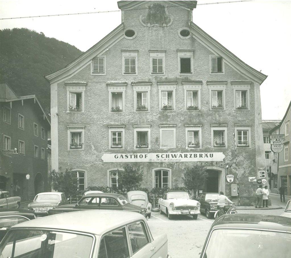 tvb-hallein-duerrnberg-erleben-geschichte-kornsteinplatz-schwarzbräu-1965-1975