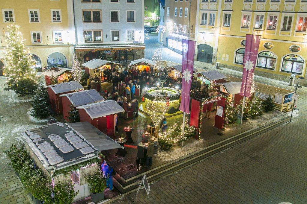 Adventmarkt Hallein Salzburg, 20181215 Foto: wildbild, Herbert Rohrer