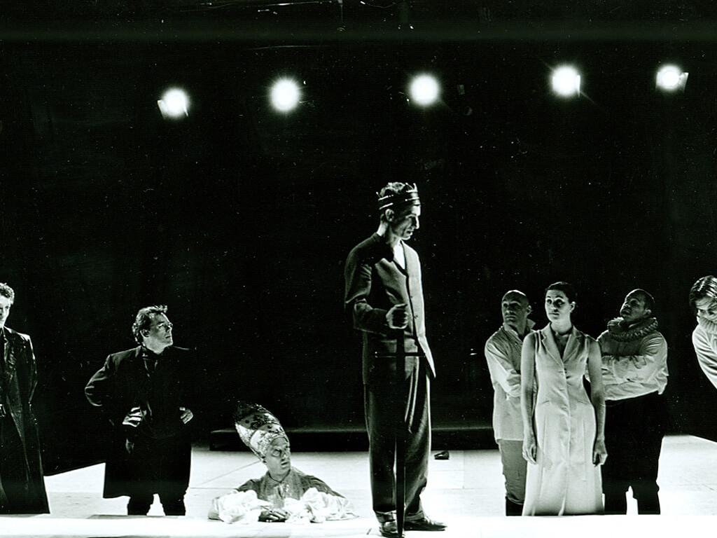 tvb-hallein-duerrnberg-kultur-festspiele-1999-SCHLACHTEN-PROBE-Oliver-Masucci-Wolfgang-Pregler-Roland-Renner-Rene-Dumont-Andreas-Grothgar-Nina-Kunzendorf-Photo-Matthias-Horn