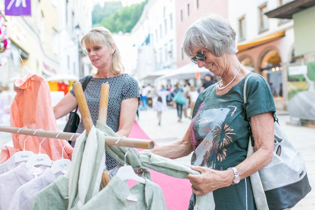 Moonlight Shopping Hallein, Salzburg, 20190607 Foto: wildbild, Herbert Rohrer