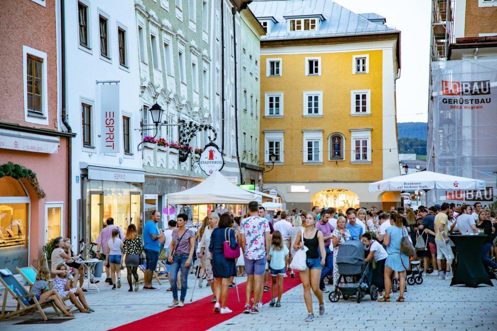 Hallein, Moonlightshopping, 20190809, Salzburg, ©www.wildbild.at